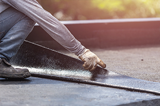 Roofing Companies in Rushdon