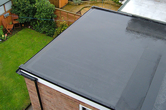 Rubber Roofing in Leicester
